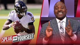 Lamar Jackson hasn't lost his shine, we're just adjusted to the light | NFL | SPEAK FOR YOURSELF