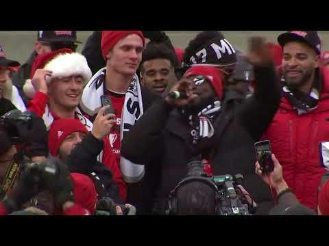 Jozy Altidore Delivers EPIC MLS Cup Parade Speech!