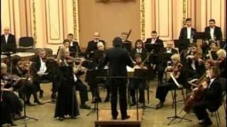 J. Brahms Violin Concerto D-dur Op. 77, 3 mvt Oksana Hretchyn