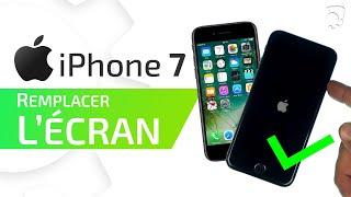 Tutoriel iPhone 7 : remplacer le bloc écran complet (vitre - LCD - caméra - écouteur)