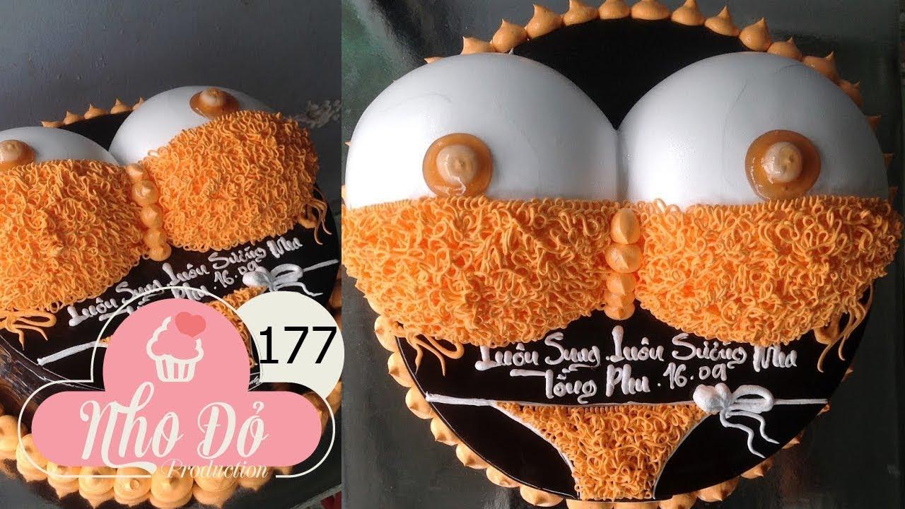 cake decoration bikini sexy- Orange – bánh sinh nhật hình áo ngực đẹp (177)