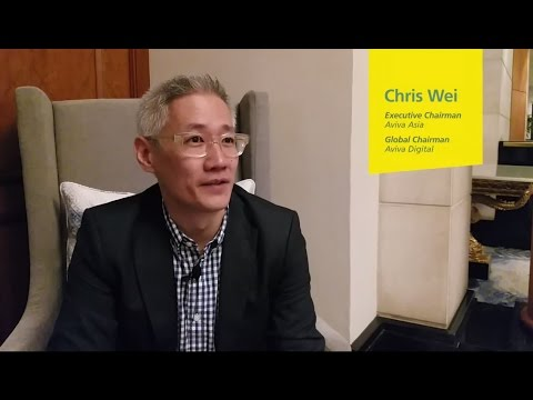 Aviva Asia Chairman Chris Wei talks disruption at 17th AIR CEO Summit in Singapore