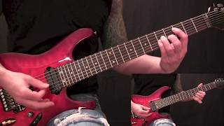 Five Finger Death Punch - The Bleeding - Guitar Lesson