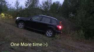 Subaru Forester 2013(2014 US) Diesel MT Steep uphill and Diagonal Test