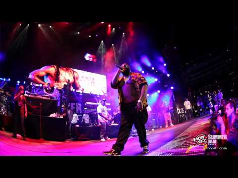 "RICK ROSS & LIL WAYNE - ""9 Piece"" - Live at Summer Jam 2011"