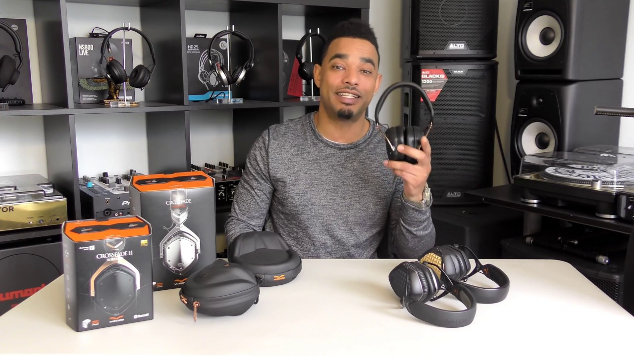 74de315b1b0ddb V-MODA CROSSFADE II Wireless Bluetooth Headphone Review - YouTube