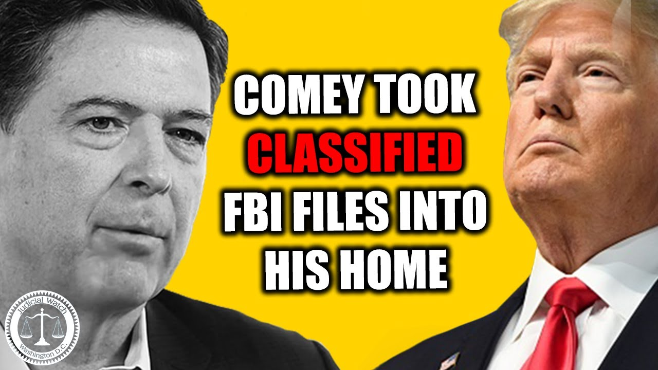 Comey Took Trump FBI Files Into His Home -- INCLUDING CLASSIFIED INFORMATION! | Tom Fitton