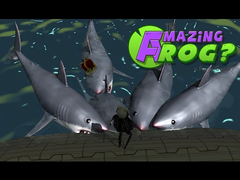 THE AMAZING FROG? - Zombies Shark Attack - Part 3 [Father and Son Gameplay]