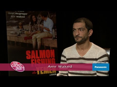 Amr Waked of 'Salmon Fishing in the Yemen' at TIFF 2011