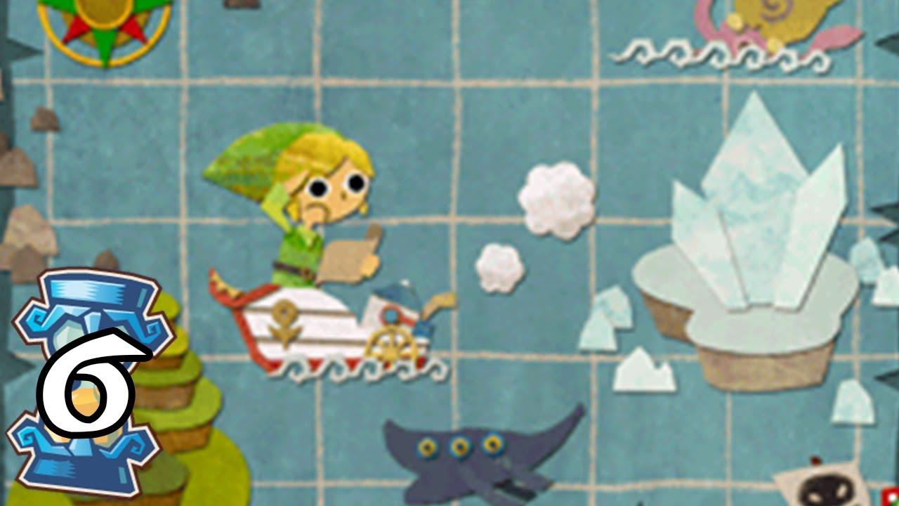 Zelda Phantom Hourglass #6 Los tres metales puros de la espada