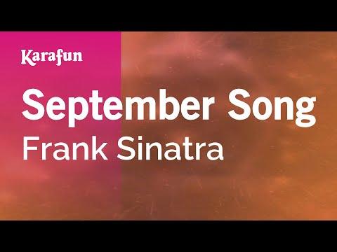 Karaoke September Song - Frank Sinatra * mp3