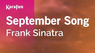 Karaoke September Song - Frank Sinatra *