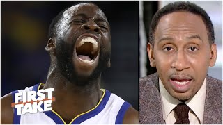 Reacting to Draymond Green saying he's the 'best defender to ever play' basketball | First Take