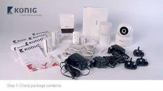 SAS-CLALARM10 - Smart Home Security Set Wi-Fi / 868 Mhz - (V1.2) ENG