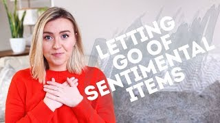 4 TIPS TO DECLUTTER SENTIMENTAL ITEMS MORE EASILY | Minimalism + Simple Living
