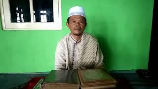 Himbauan damai pasca pemilu,H.Bubun Bunyamin Ketua MUI Desa Sukatani Kec.Pacet