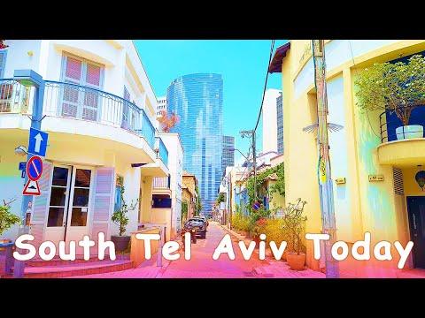 Walk In South Tel Aviv, Israel 2020