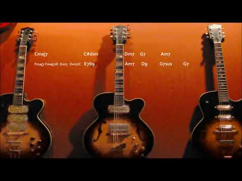 Warm Jazz Groove Backing Track in C