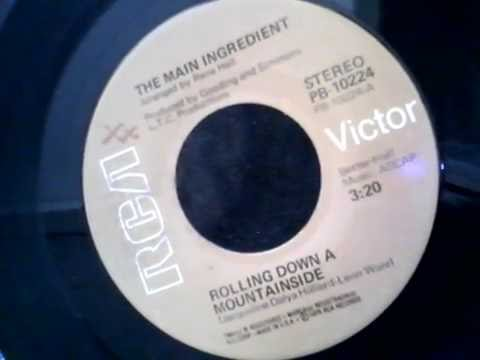 THE MAIN INGREDIENT - Rolling Down A Mountainside~~Vinyl Only~~HD