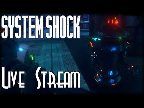 Let's Blindly Stream System Shock (Pre-Alpha Demo)! - Full Demo Playthrough