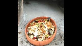Güveçte Alabalık - sebzeli kaşarlı alabalık - alabalık - yemek tarifleri