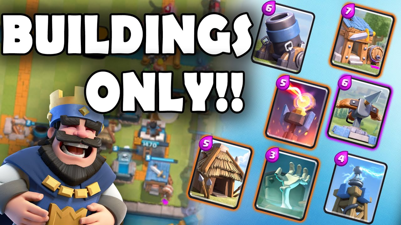 clash royale building only spam deck how is this going to work 2016 12 26. Black Bedroom Furniture Sets. Home Design Ideas
