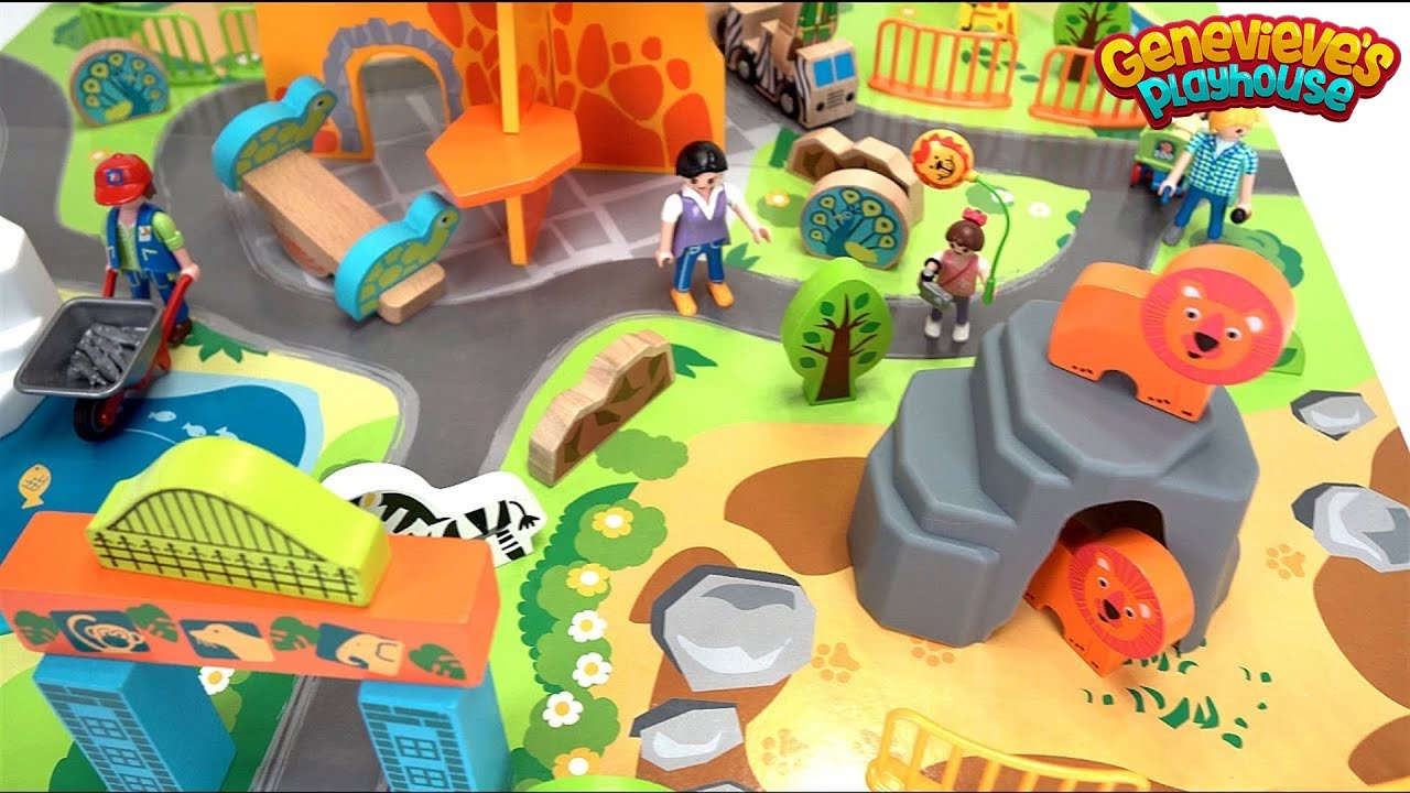 Let S Build A Zoo And Play With A Toy Farm To Learn Animal Names