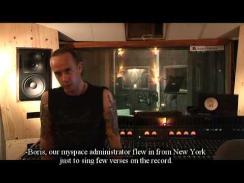 BEHEMOTH — Episode IV — Vocal Tracking 2009 e.v. (OFFICIAL BEHIND THE SCENES)