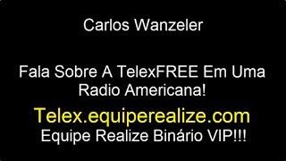 Wanzeler 11/01/2014 Fala Sobre A TelexFREE Internacional (Rádio Americana) -  Realize Binário VIP!