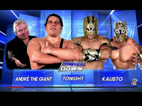WWE 2K16 | André The Giant Vs Kalisto