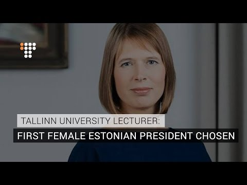 Estonia Selects First Female President - But Who Is She?