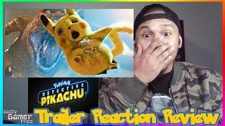 POKÉMON Detective Pikachu Trailer Reaction Review