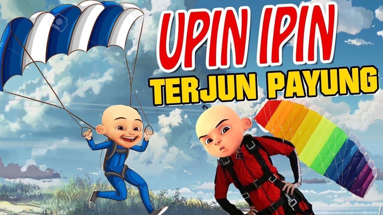 Download Upin ipin terjun Payung , Upin kencing di celana takut? GTA Lucu