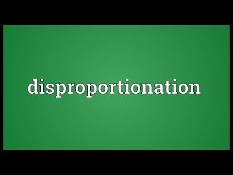 Header of disproportionation