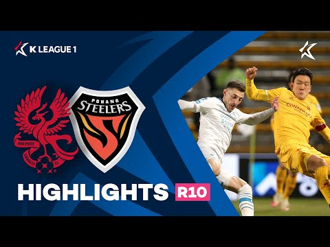 Gwangju FC Pohang Goals And Highlights