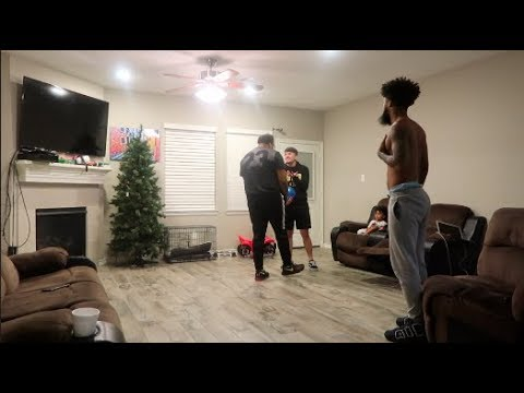 """""""SAYING THE N WORD"""" PRANK ON CHRIS & VONTAY!! **MUST WATCH**"""