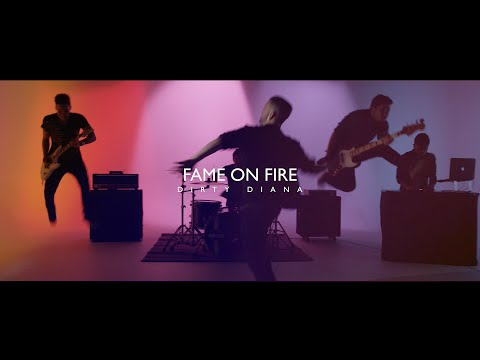 Fame On Fire - Michael Jackson - Dirty Diana (Rock Cover)