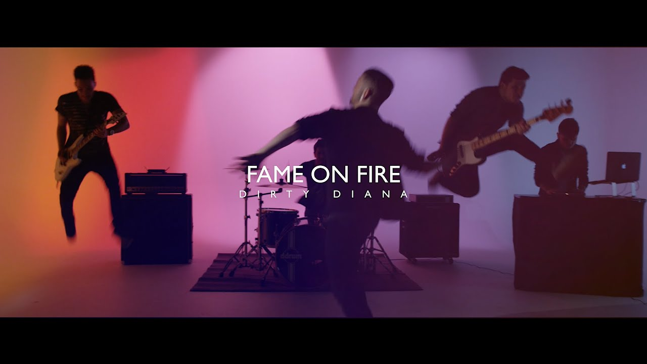 fame on fire michael jackson dirty diana rock cover