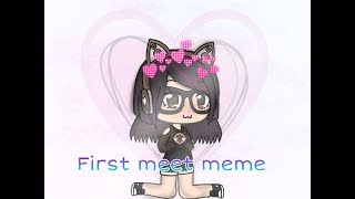 First meet meme// Katie Enjoys Roblox