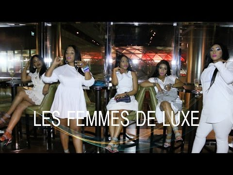 LES FEMMES DE LUXE FIRST ANNIVERSARY IN A POSH RESTAURANT IN LONDON DOCKLAND