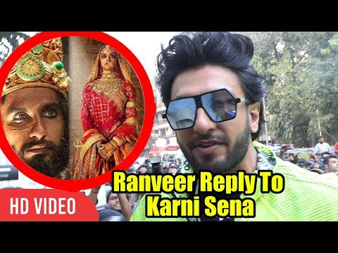 Ranveer Singh Reply