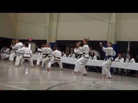 Region 6 Spring Dan Testing - Black Belt Linedrills - May 16, 2015 New Braunfels, TX