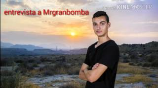 Entrevista a Mrgranbomba ( El fin de Mrgranbomba)#Caraanchoa