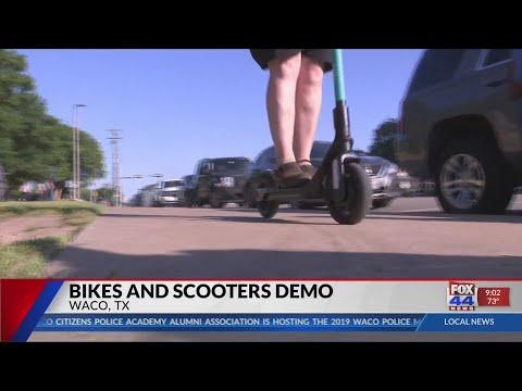 Bike company hosts shared mobility demonstration for Waco community
