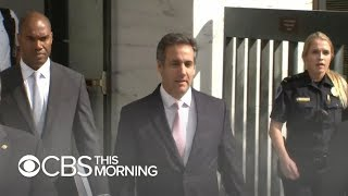 Michael Cohen expected to denounce Trump, apologize at sentencing hearing