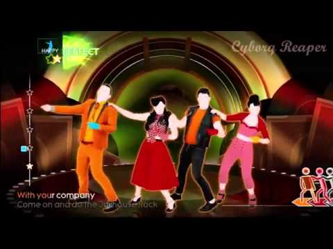 Just Dance 4 Elvis Presley Jailhouse Rock Xbox Kinect