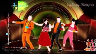 Just Dance 4 Elvis Presley Jailhouse Rock Xbox Kinect