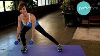 Full-Body Intermediate Workout | Perfect Form With Ashley Borden