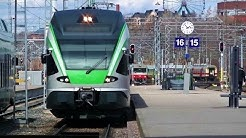 VR Trains in Finland, Helsinki Central railway station - Helsingin päärautatieasema