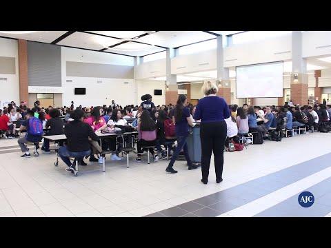 VIDEO: How Paul Duke STEM is handling lunch logistics